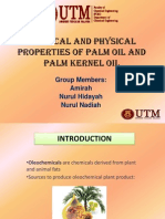 Chemical Properties Palm Oil