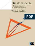 Bechtel William Filosofia de La Mente