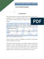 Fauji Fertilizers Report