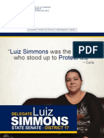 District 17 Direct Mail from Del. Luiz Simmons