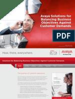 Balancing Business Demands Against Customer Needs