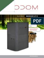 Biodom 27 E brochure
