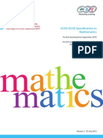 Gcse Math Revised Specification 5882