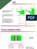 Josephson Effect