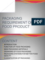 food products packaging presentation