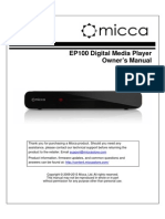 Micca EP100 Users Manual