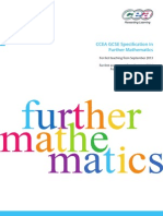CCEA GCSE Further Mathematics Specification 2335 by themathroom.co.uk