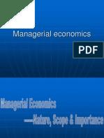 Managerial Economics -1