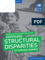 Exposing structural disparities of Romani women