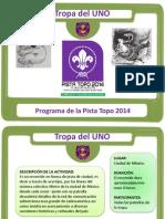 Programa Pista Topo 2014