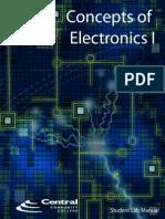 Concepts of Electronics I - Student Lab Manual