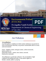 Environmental pollution notes