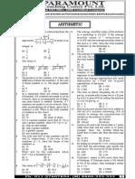 Ssc Mains (Maths) Mock Test-5