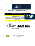 FINANTIAL INTERMEDIATION