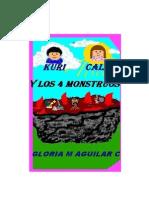 Kuri Calia y Los Cuatros Monstruos
