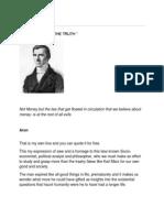 """Frédéric Bastiat -A HOMAGE TO """"…..THE TRUTH """""""