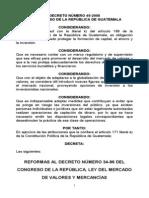 En LIBRO CARTA Reforma Mercado de Valores