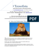 O TEOSOFISTA Fevereiro2014 FilosofiaEsoterica