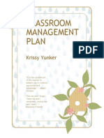 classroom management plan contents
