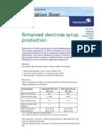 Dextrozyme Application Sheet