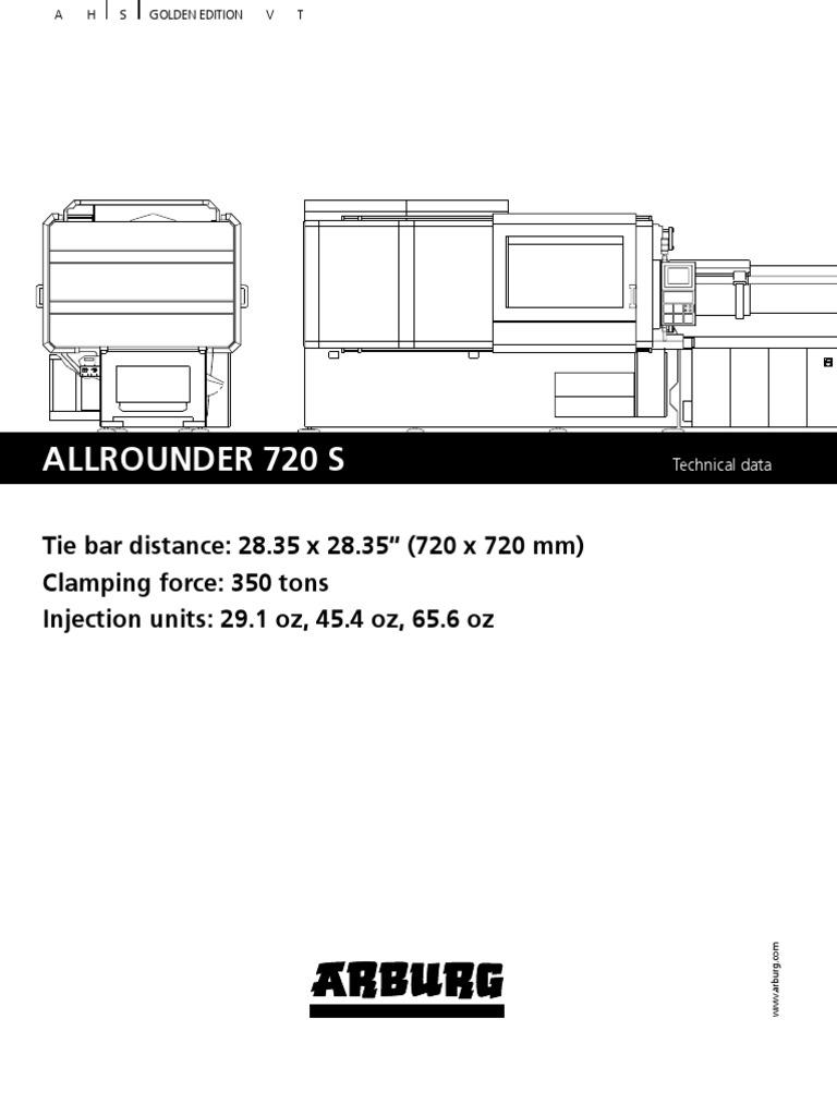 Arburg 720s Web 524650 en Us | Switch | Poly(Methyl Methacrylate)