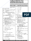 Ssc Mains (Maths) Mock Test-8 (Solution)