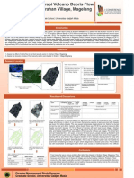 The Effect of Merapi Volcano Debris Flow to Food Security in Sirahan Village, Magelang (Poster)