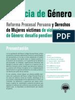 Reforma Procesal Penal y Su Impacto en Las Mujeres Victimas (1)