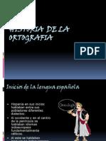Clase de la Historia de la Ortografía ciclo I 2014