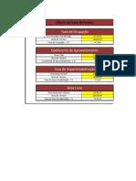 Cálculo de Áreas para Projeto