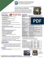 CLX Online Chlorine Analyzer Brochure - HF Scientific 20040