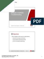 Microsoft PowerPoint - 01 OEB404600 eNodeB V100R006 Troubleshooting ISSUE 1