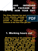 New Stimulus Package by PM-A New Year Gift-VRK100-19122008