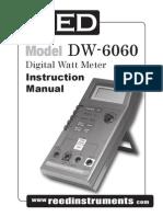 DW-6060 Watt Meter