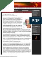 Charlas y diálogos Advaita_ Hay que meditar sin cesar, por Annamalai Swami