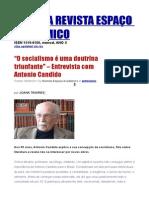 Entrevista Antonio Candido
