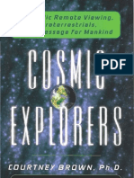 Cosmic Explorers By Courtney Brown