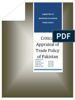 47888597 Trade Policy of Pakistan 2009 11