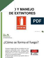 Boletín USO DE EXTINTORES