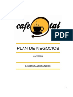 Plan de Negocios Cafeteria El Cafe