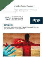 Bonus Readings-Reading 5.2 How Social Science Can Rduce Terrorism