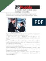 16-02-2014 Sexenio Puebla - Marcos Flores Morales rinde protesta como presidente municipal de Zacatlán.pdf