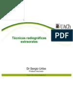 Tecnicas radiograficas extraorales  uach