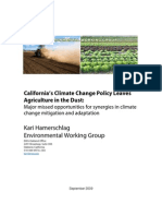 California's Climate Change Policy Leaves Agriculture in the Dust