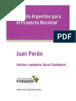 Modelo Argentino Para El Proyecto Nacional J.peron