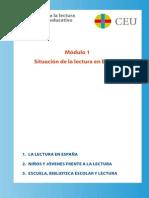 MÓDULO 1 Situación de la lectura en España