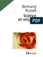 Science Et Religion Bertrand Russell