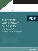 Fleetrite Brake Shoe Kits