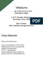 Webduino Class