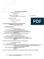 CV Asistent Medical